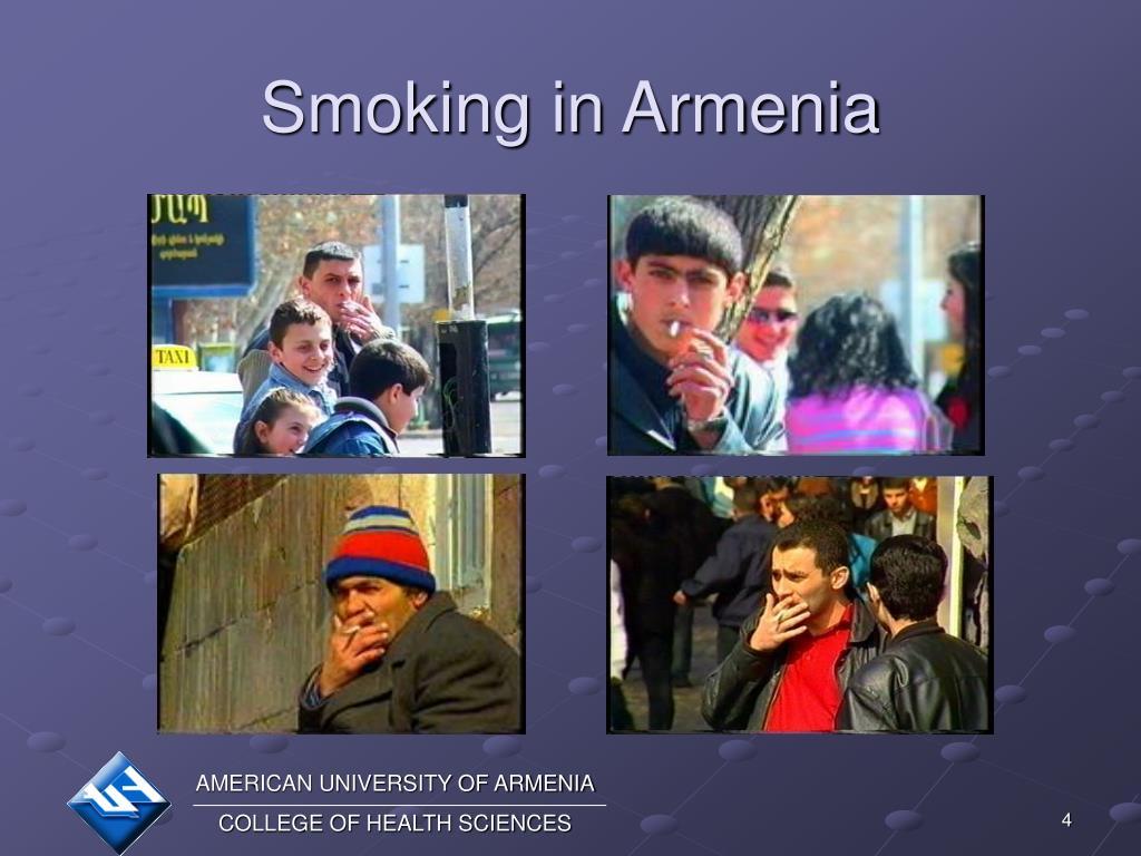 Smoking in Armenia