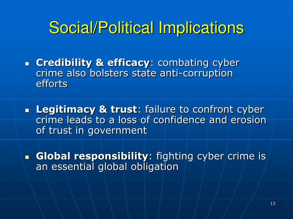 Social/Political Implications