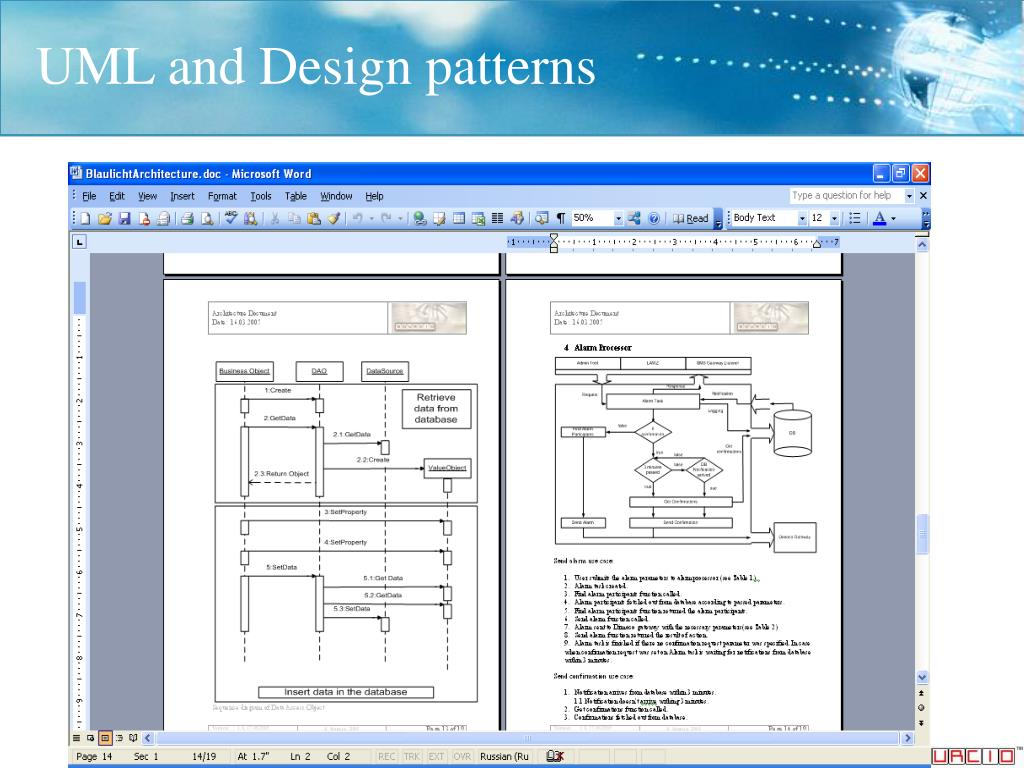 UML and Design patterns