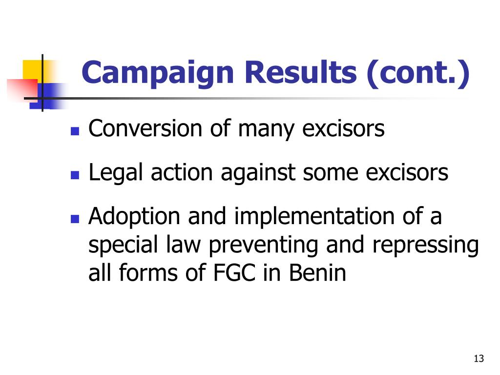 Campaign Results (cont.)