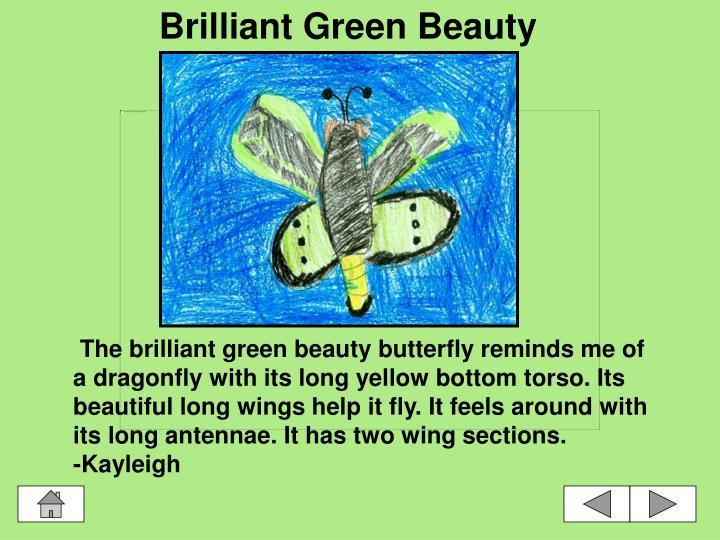 Brilliant Green Beauty