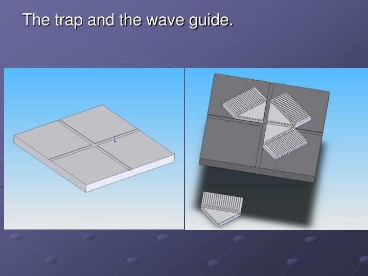 The trap and the wave guide.