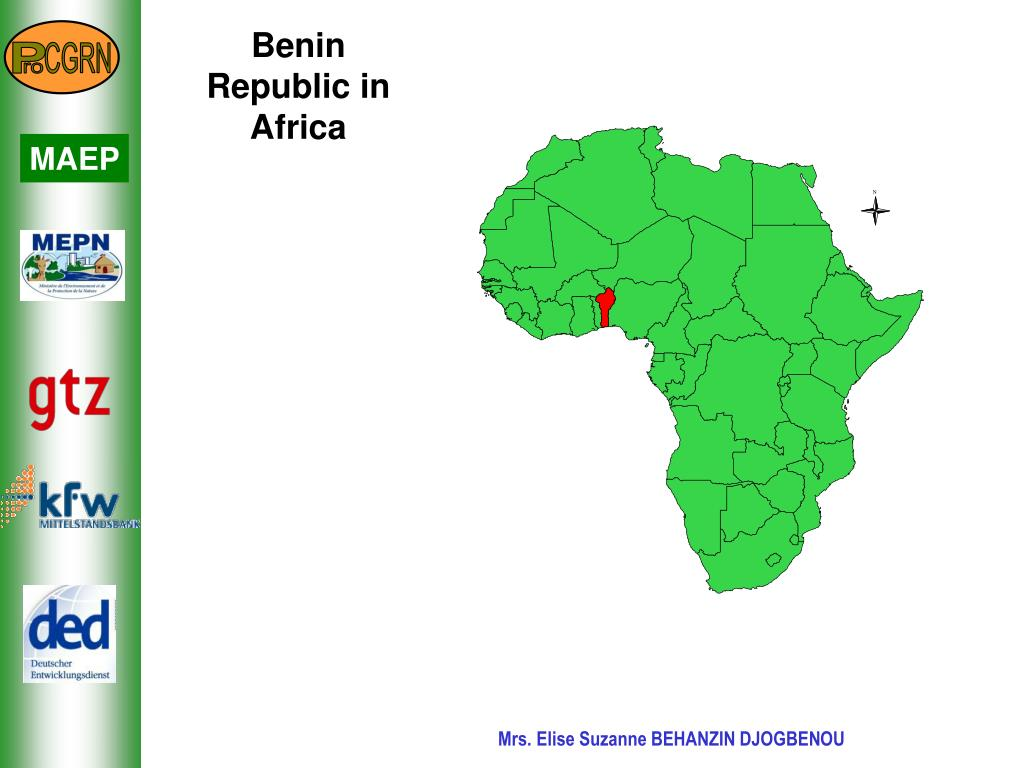 Benin Republic in Africa