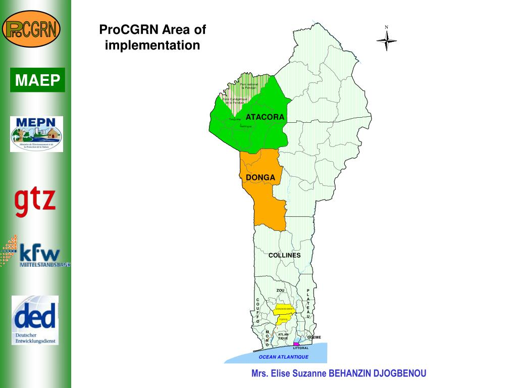 ProCGRN Area of implementation