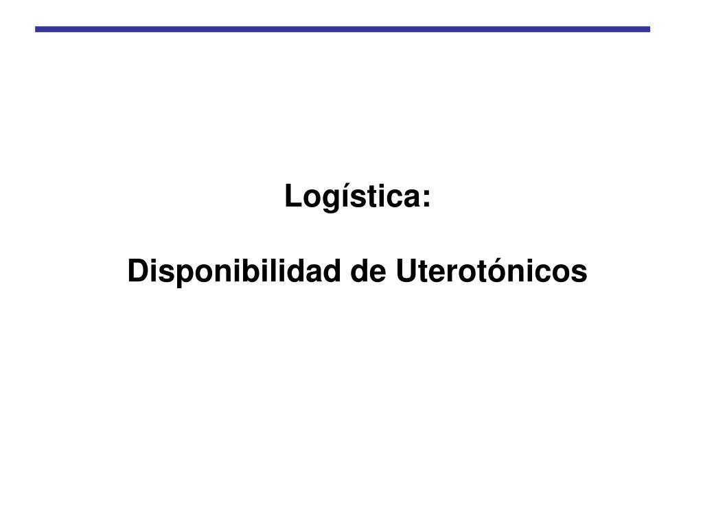 Logística: