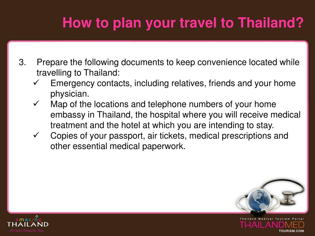 How to plan your travel to Thailand?