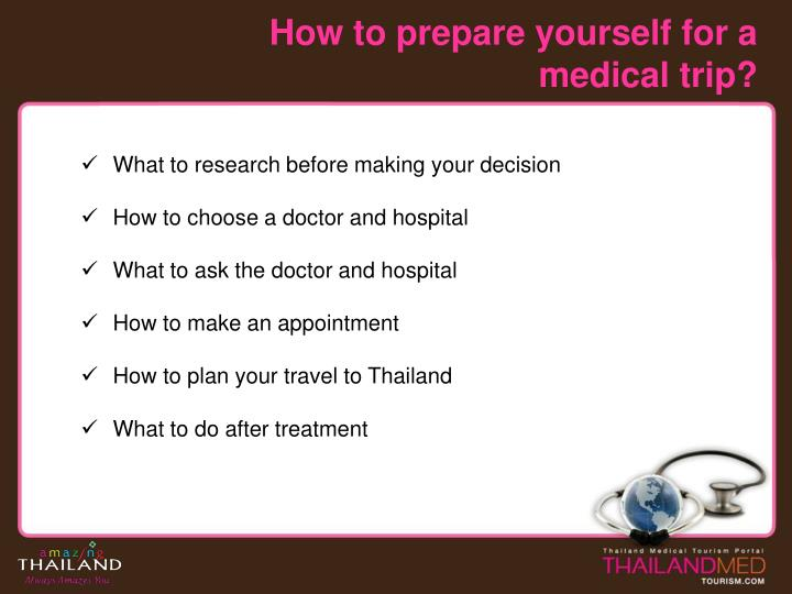 How to prepare yourself for a medical trip l.jpg