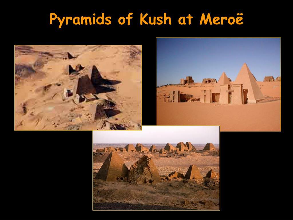Pyramids of Kush at Meroë