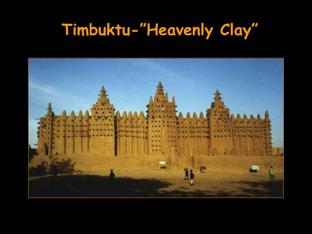 "Timbuktu-""Heavenly Clay"""