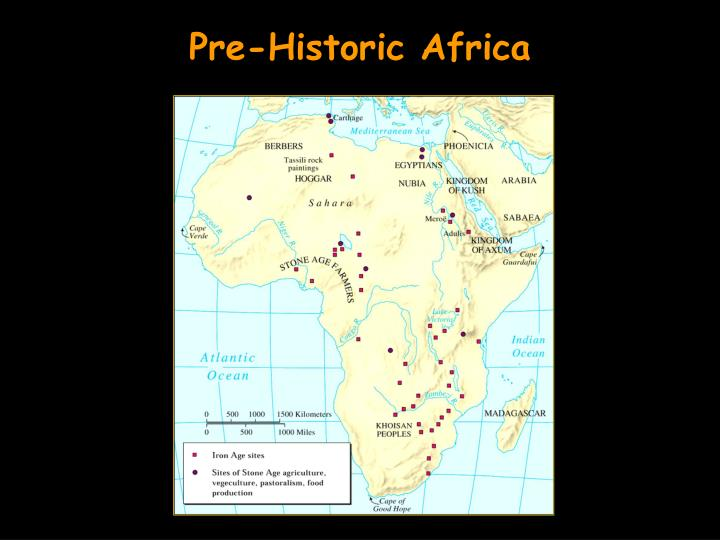 Pre-Historic Africa