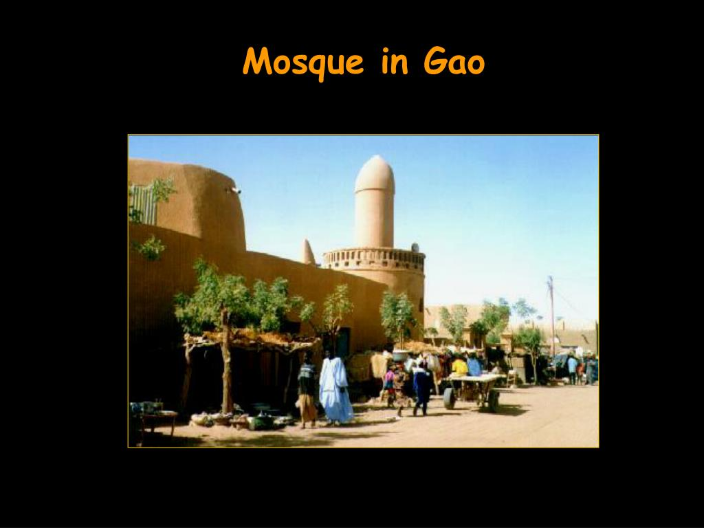 Mosque in Gao