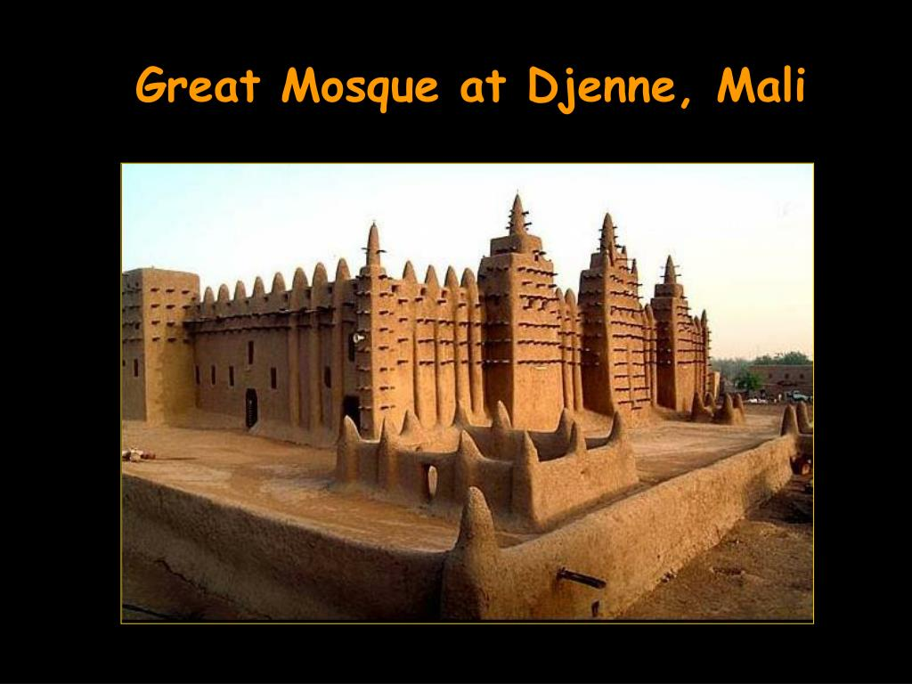 Great Mosque at Djenne, Mali