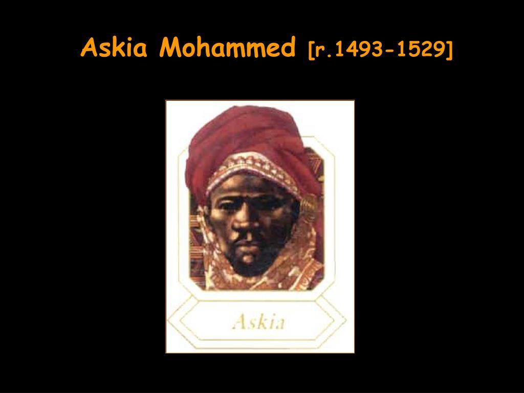 Askia Mohammed