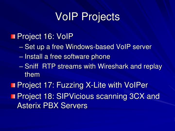 VoIP Projects