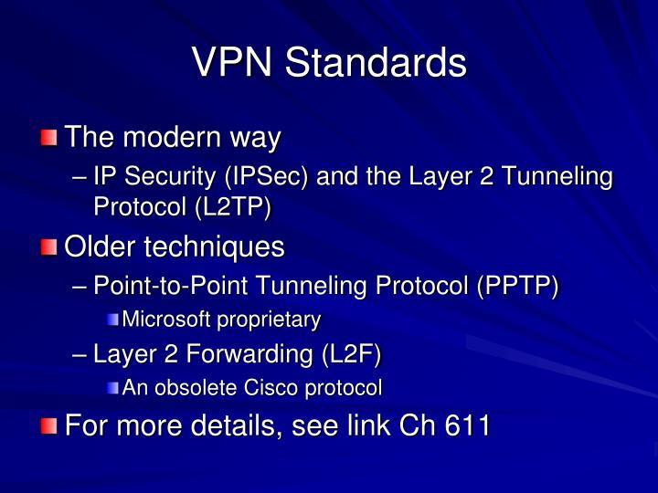 VPN Standards