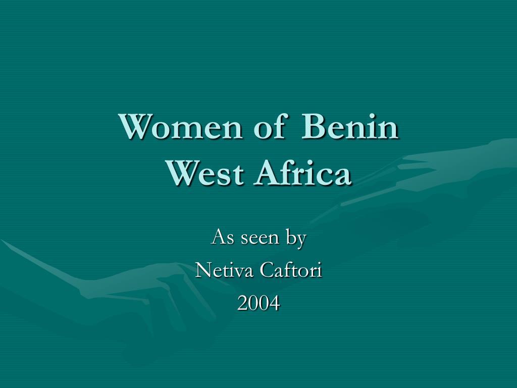 Women of Benin