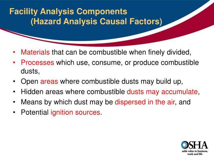 Facility Analysis Components