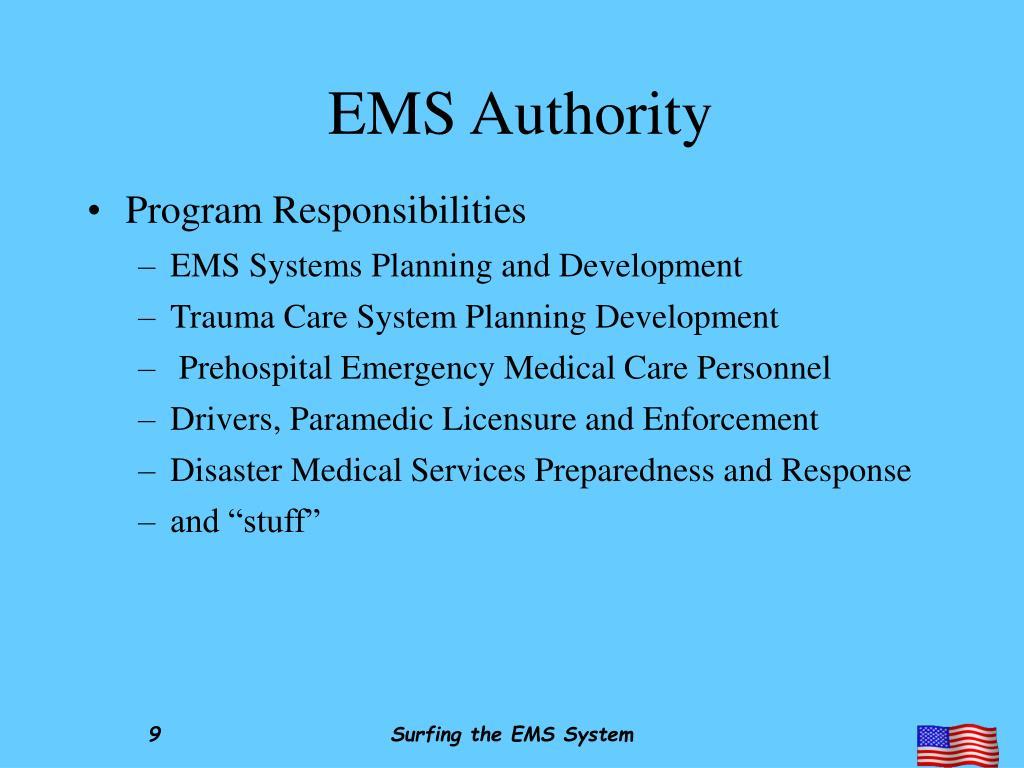 EMS Authority