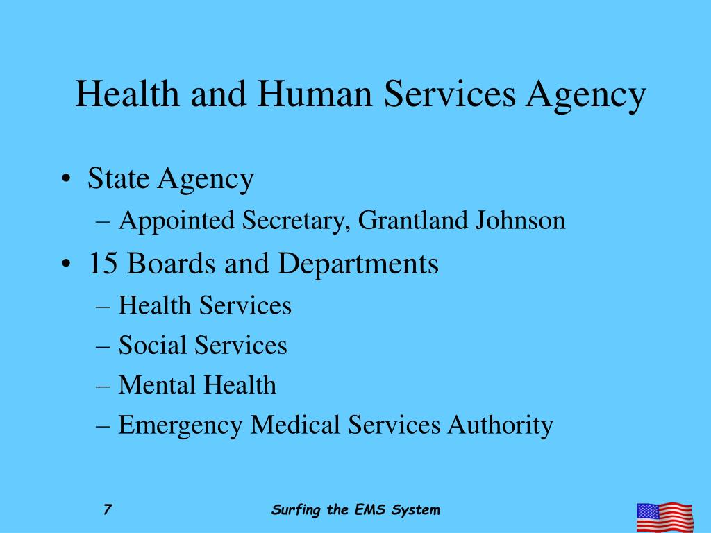 Health and Human Services Agency