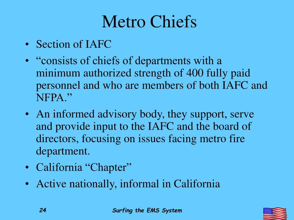 Metro Chiefs