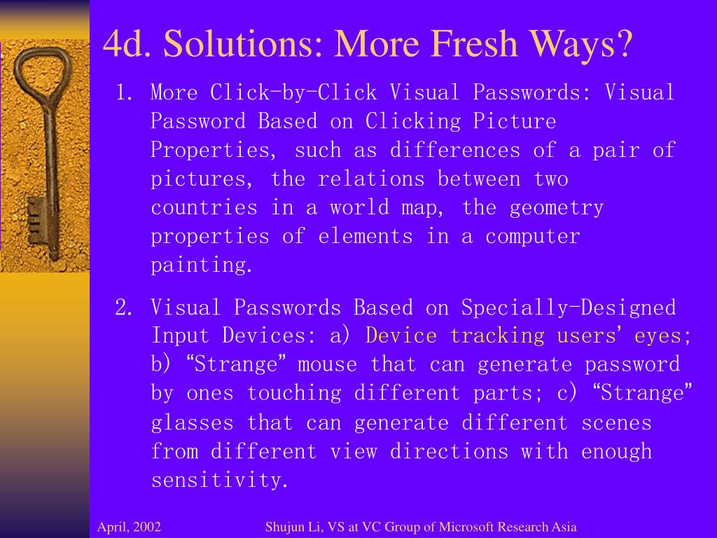 4d. Solutions: More Fresh Ways?