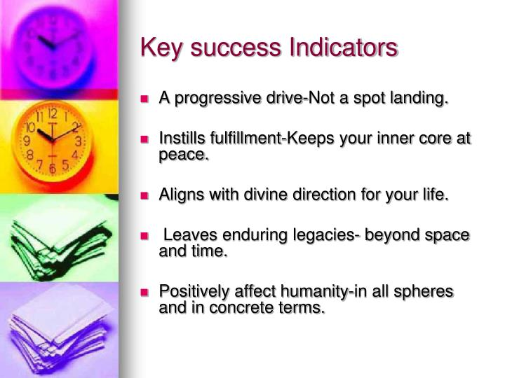 Key success Indicators