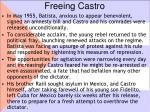 freeing castro