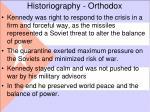 historiography orthodox