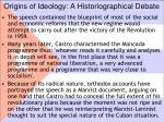 origins of ideology a historiographical debate