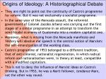origins of ideology a historiographical debate1
