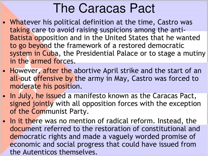 The Caracas Pact