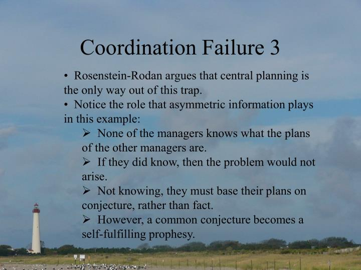 Coordination Failure 3