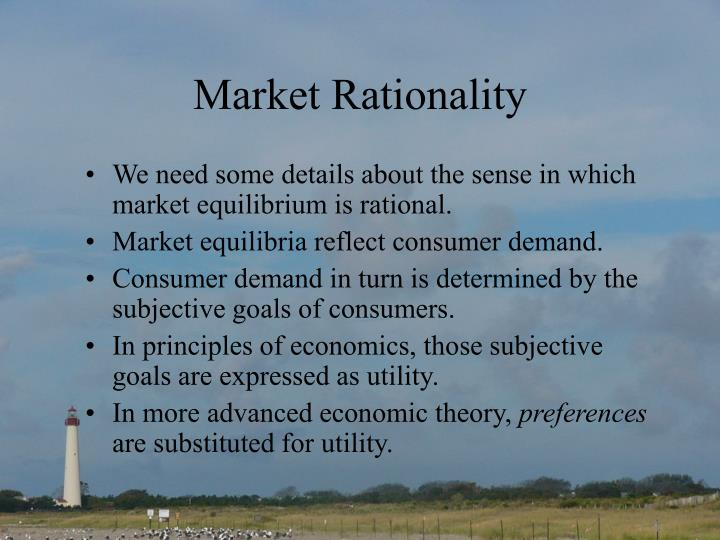 Market Rationality