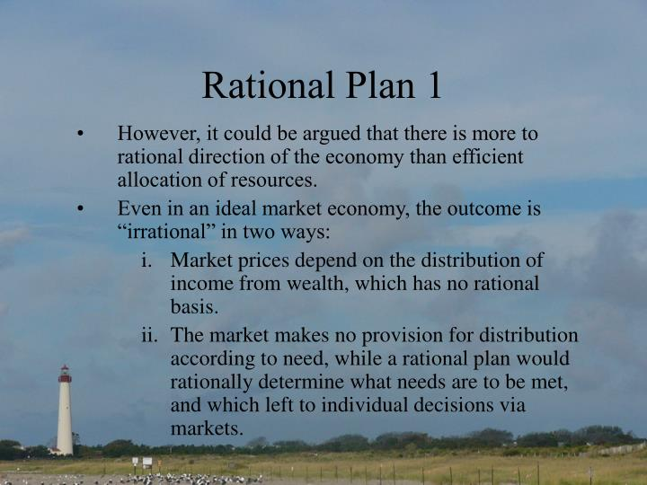 Rational plan 1