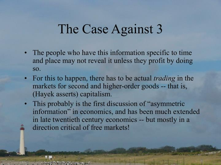 The Case Against 3