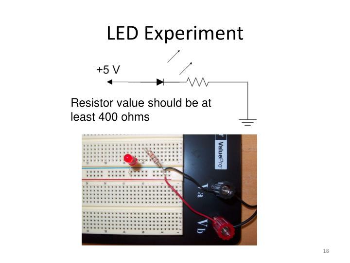 LED Experiment