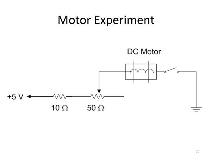 Motor Experiment