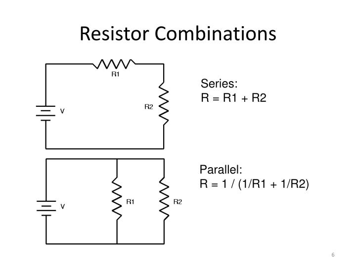 Resistor Combinations