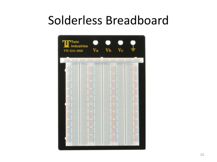 Solderless Breadboard