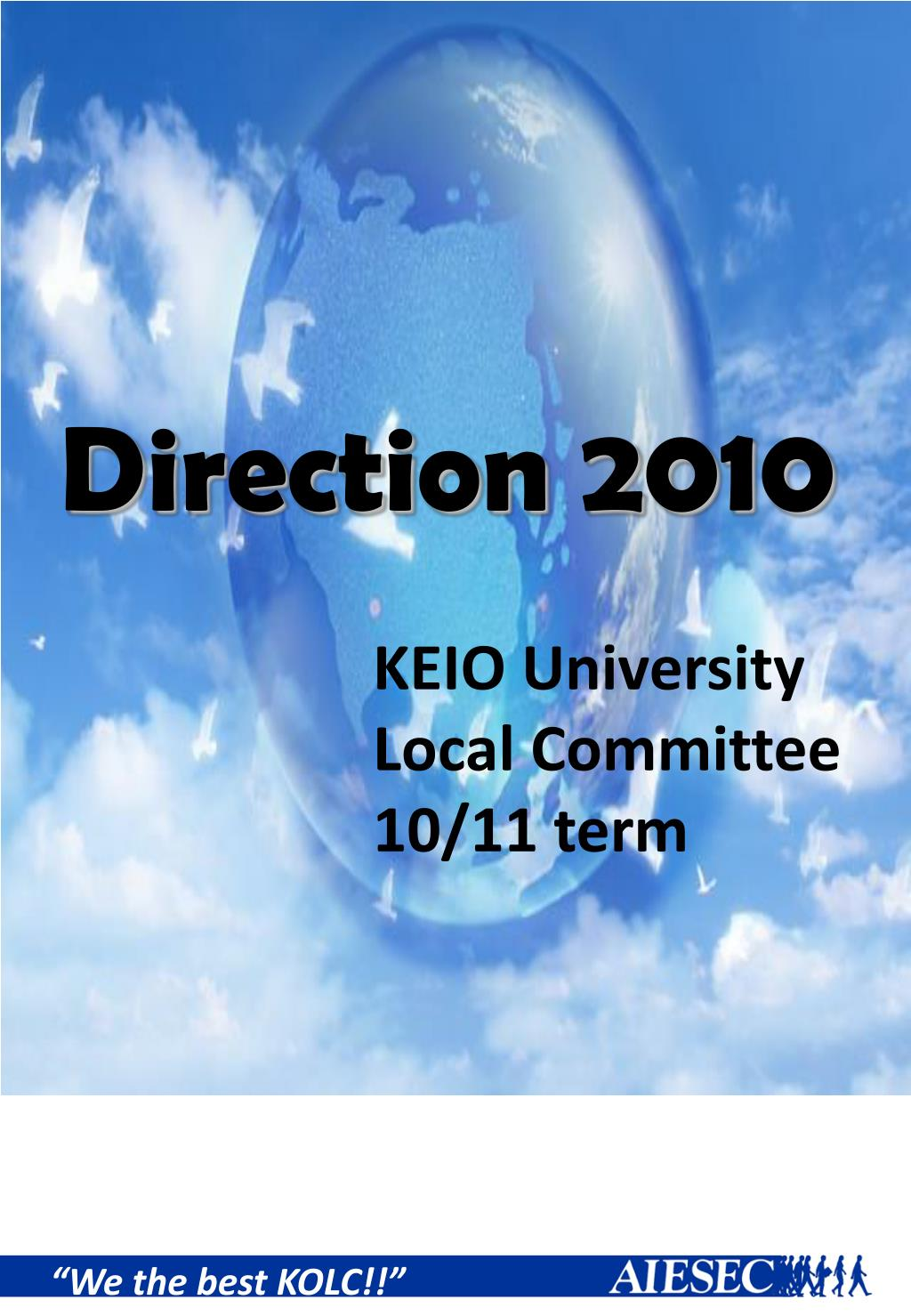 Direction 2010