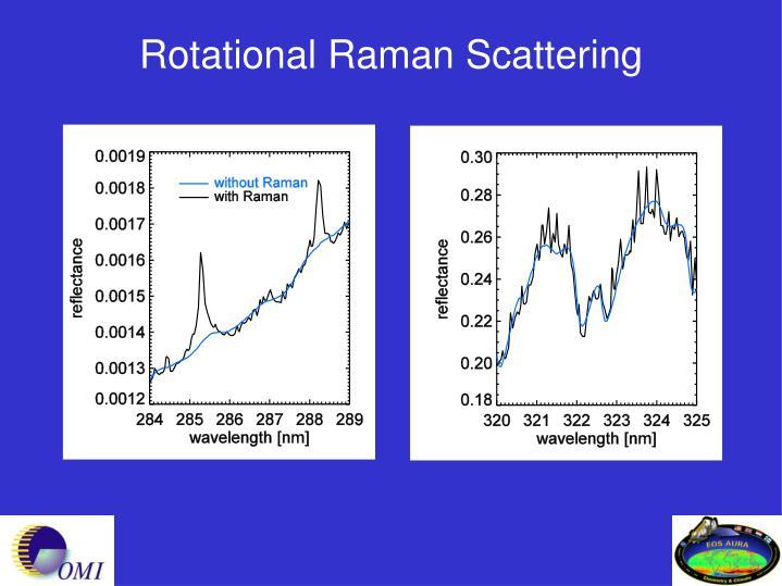 Rotational Raman Scattering