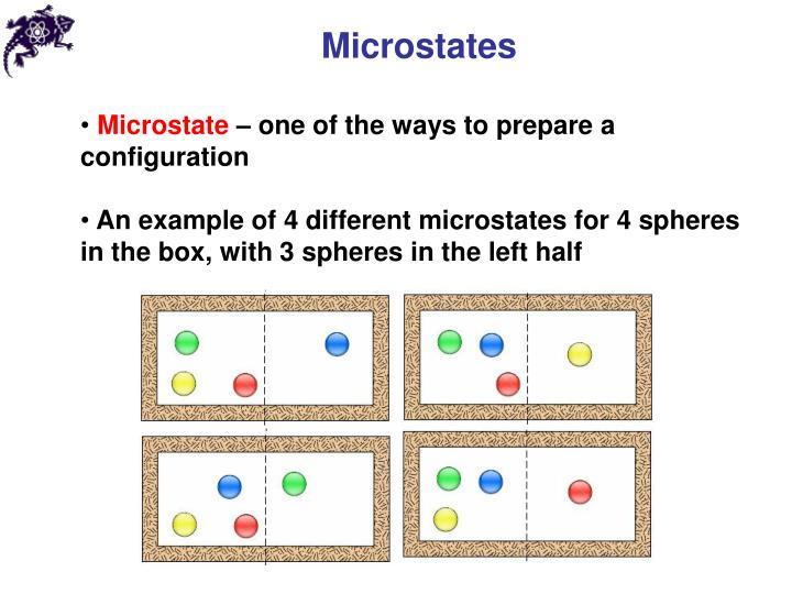 Microstates