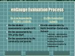 engauge evaluation process