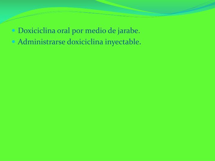 Doxiciclina