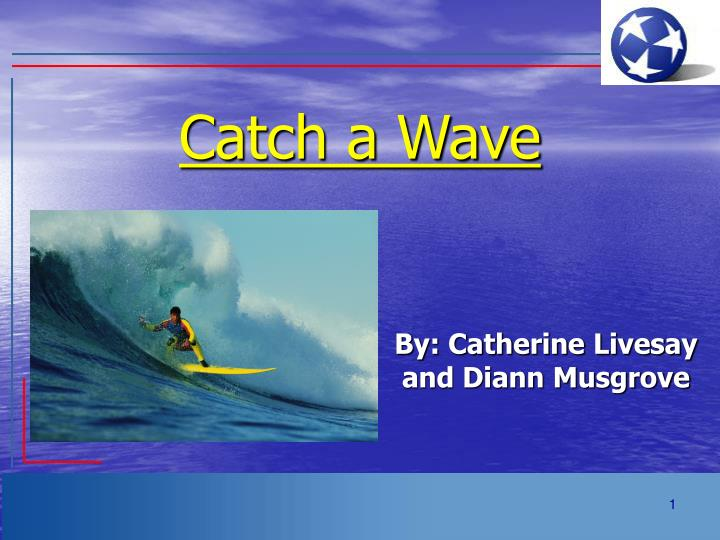 Catch a wave
