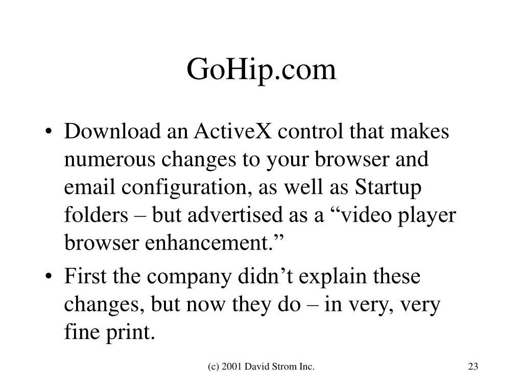 GoHip.com