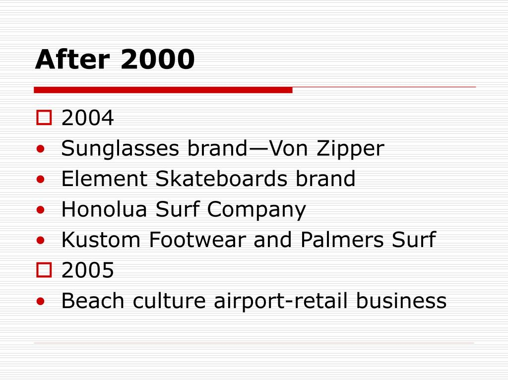 After 2000