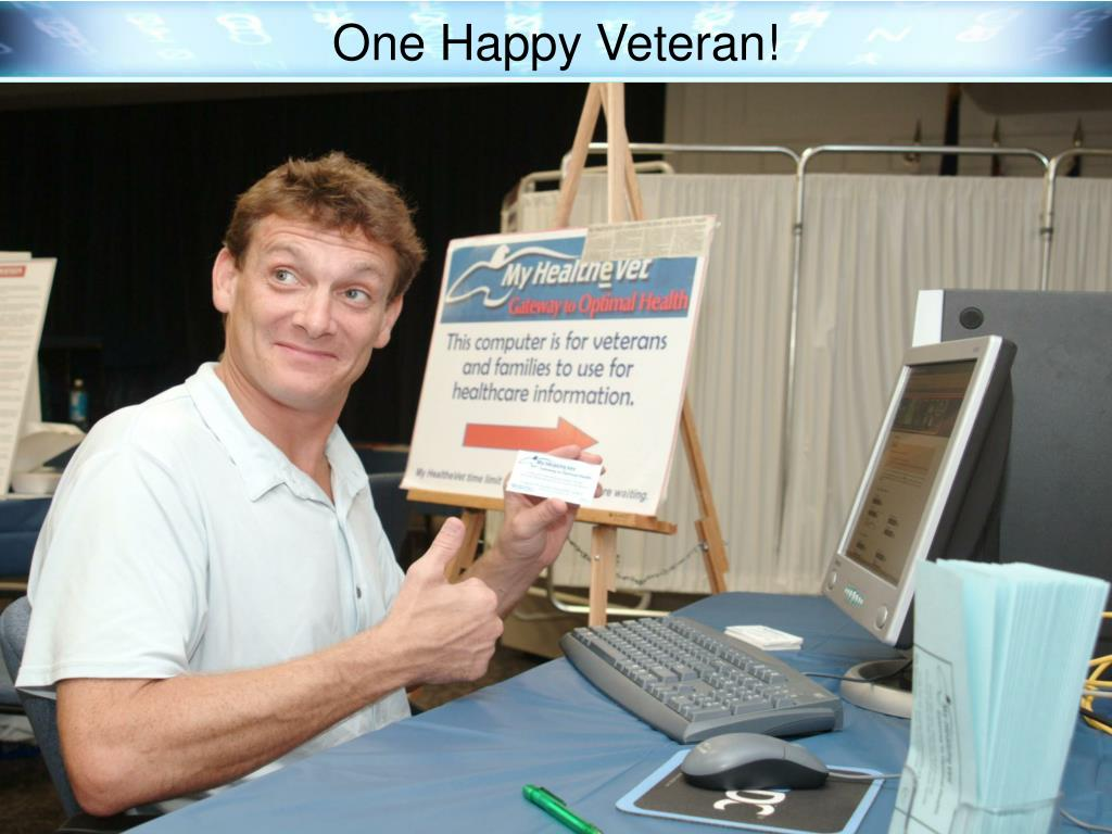 One Happy Veteran!