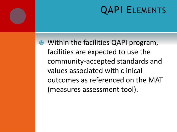 QAPI Elements