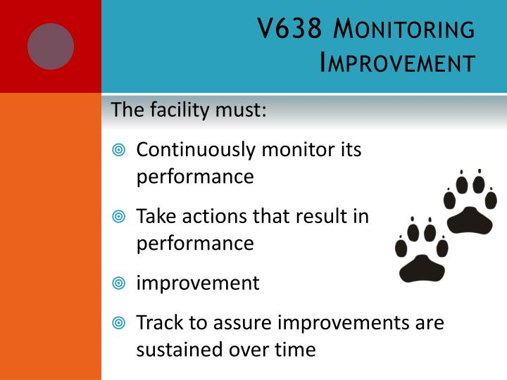 V638 Monitoring Improvement